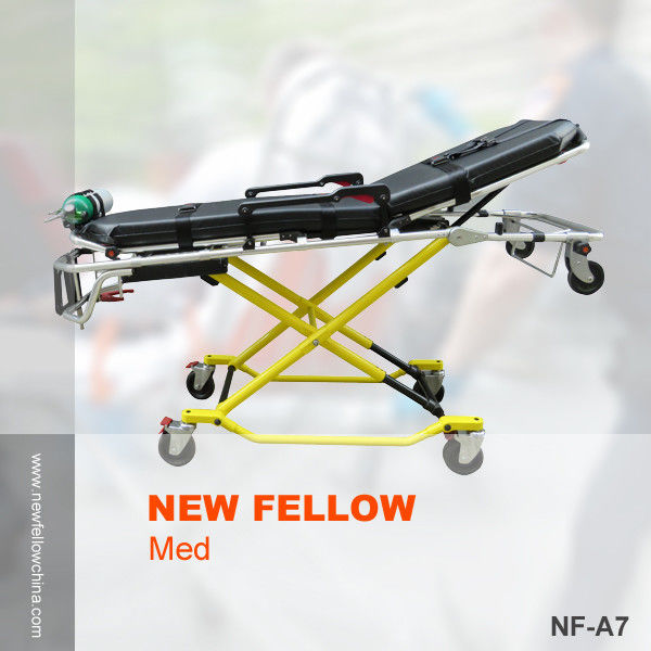 Aluminum Alloy High Strength Roll-in Self Collapsible Ambulance rescue stretcher