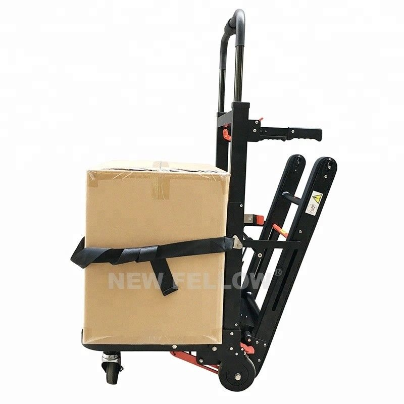 Commercial Stair Climbing Hand Truck Rubber Track Stair Climber Machine