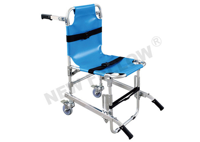 Portable Medical Chair Stair Stretcher Patient Stretcher Trolley With 3pcs Belts