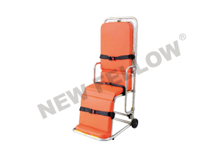 Collapsible Lightweight Ambulance Stretcher Trolley , Patient Transport Stretcher