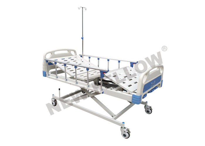 3 Functions Medical Hospital Beds , elderly nursing bed with footboard / headboard