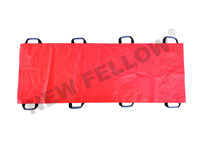 PVC Soft Patient Transfer Stretcher , First Aid Carry Sheet ambulance Stretchers